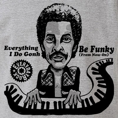 Allen Toussaint T Shirt caricature