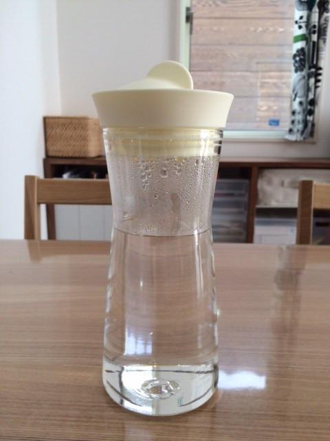 ハリオ HARIO ウォータージャグ 700ml シリコーン蓋 耐熱ガラス製 日本製 ミルク 調乳用 湯冷まし入れ シンプル