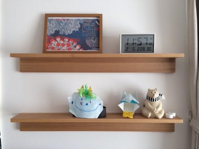 無印良品 壁に付けられる家具・棚・幅88cm ナチュラル 飾り棚 MK Tresmer エムケー トレスマー Polar Bear Money Box マリメッコ marimekko リビング