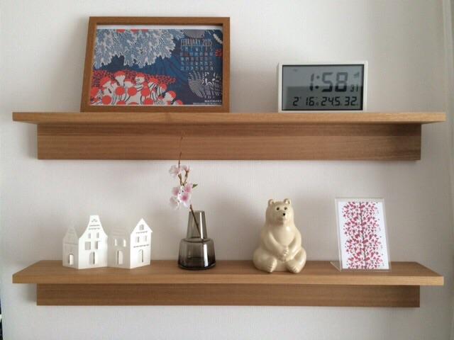 無印良品 壁に付けられる家具・棚 飾り棚ディスプレイ MK Tresmer(エムケー トレスマー) Polar Bear Money Box Holmegaard Flora ベース 12cm