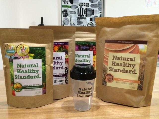 Natural Healthy Standard. ミネラル酵素スムージー福袋 レビュー ダイエット