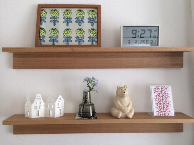 ホルムガードHolmegaard フローラFlora ベース 12cm scoap 無印良品 壁に付けられる家具・棚 88cm リビング飾り棚ディスプレイ