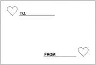 ホワイトカードのテンプレート・フォーマット・ひな形