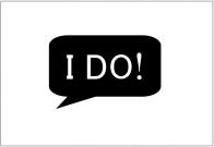 フォトプロップス(I DO!)テンプレート・フォーマット・雛形