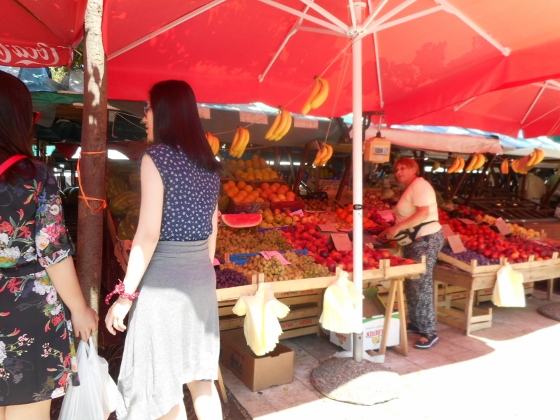 ザダル市場