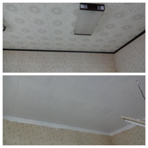 天井のペイント