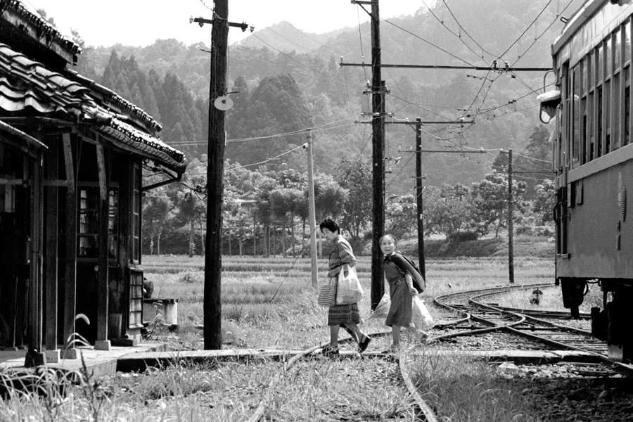 蒲原鉄道 夏の大蒲原駅全景3 1984年 月 日 16bitAdobeRGB原版 take1b
