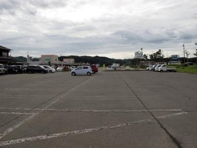 道の駅 東由利 駐車場