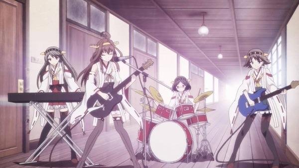 4 金剛四姉妹 廊下でバンド