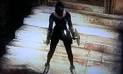 「いにしえのゲーマー」みゆのゲーム部屋-セクシー衣装のカタリナちゃん