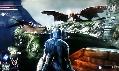 「いにしえのゲーマー」みゆのゲーム部屋-憎きドラゴンを眺めるカタリナの図
