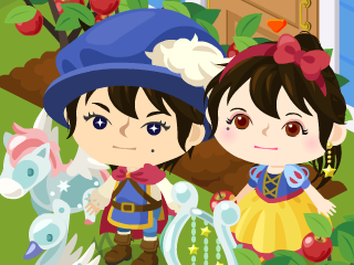 $「いにしえのゲーマー」みゆのゲーム部屋-白雪姫と王子様