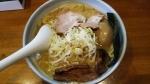 藤原拉麺店 味玉濃厚ラーメン 15.1.11