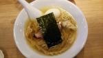 あお木 醤油らーめん+煮玉子 15.1.31