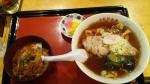 牛乳屋食堂 Bセット手打ち麺 15.2.21