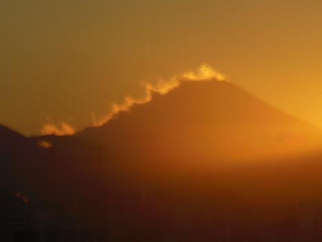 富士のたてがみ