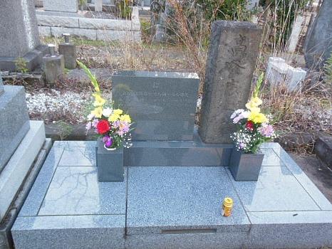 青山墓地高谷家の墓