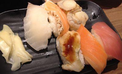 食べ放題のお寿司