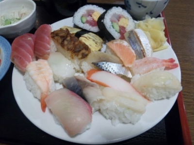 20150108丸幸60分寿司食べ放題1080円寿司盛り1皿目で満腹