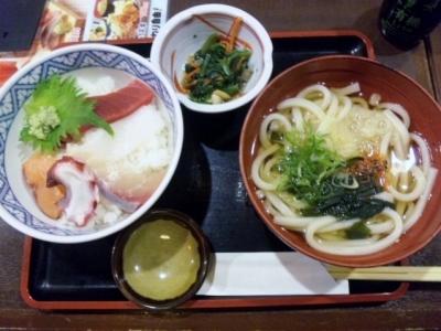 150121大庄水産日替わり海鮮丼800円