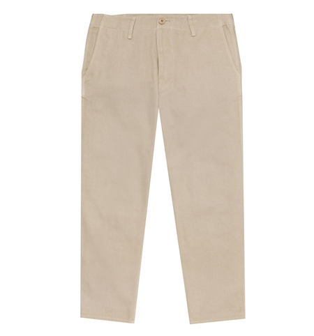 TR01 BASIC CHINO PANTS BEIGE_R