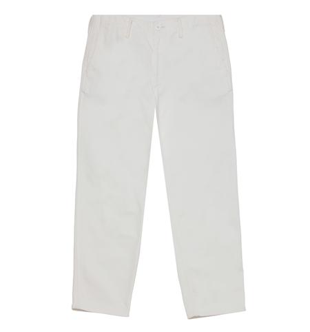TR01 BASIC CHINO PANTS WHITE_R