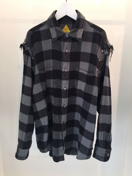 Check Shirt_Grey_R