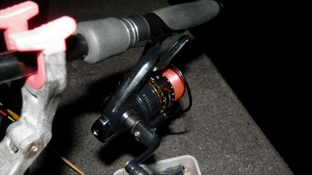 5:09 釣り開始 ♪