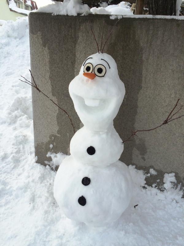 雪だるま オラフ
