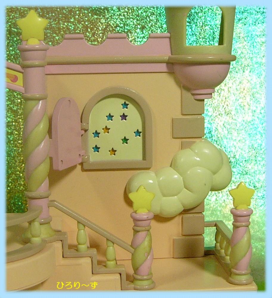 天空のオアシス バルコニーの扉