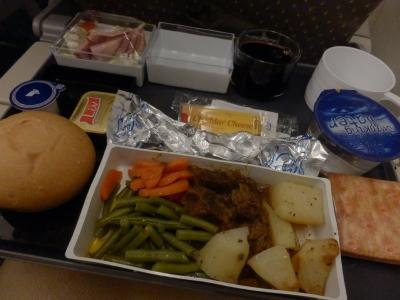 シンガポール航空「SQ636 シンガポール→羽田」1