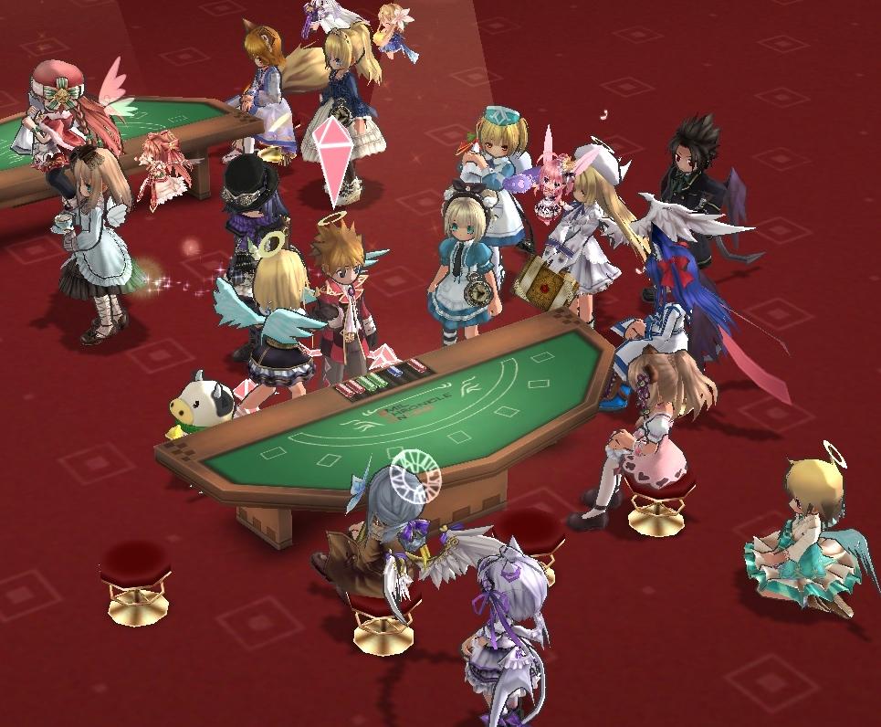 02_テーブルにあつまる決闘者達