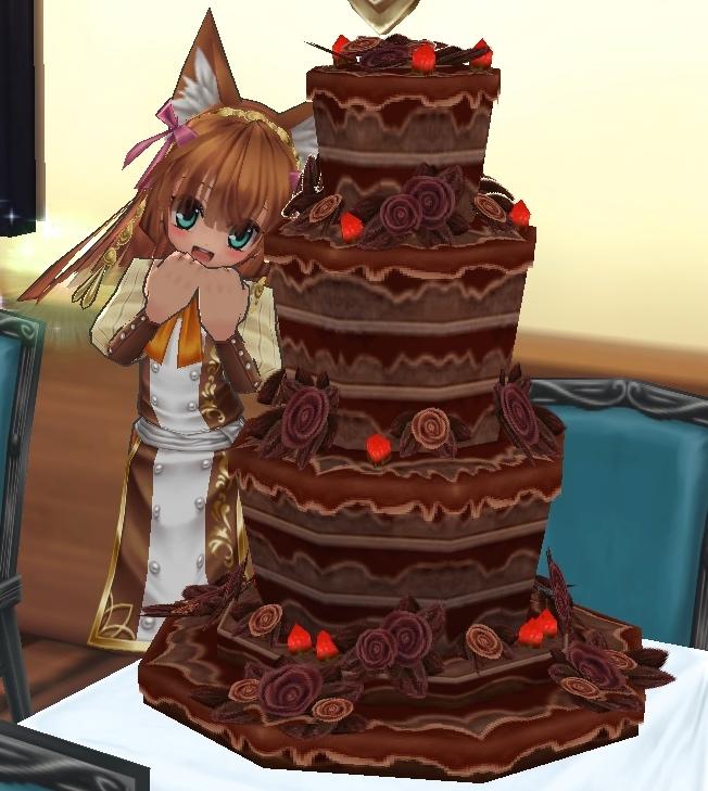 03_チョコケーキ!
