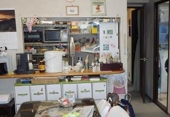 実家の片づけ キッチン渡部亜矢