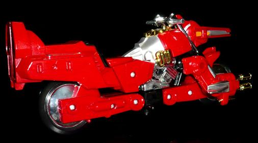 超光騎士 リクシンキ バイクモード