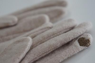ママちゃんさんハート手袋
