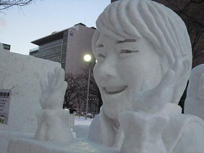 雪祭り羽生くん