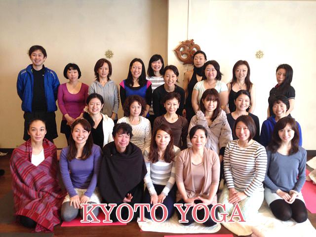 12月太陽礼拝108回WS  2014年 京都ヨガ