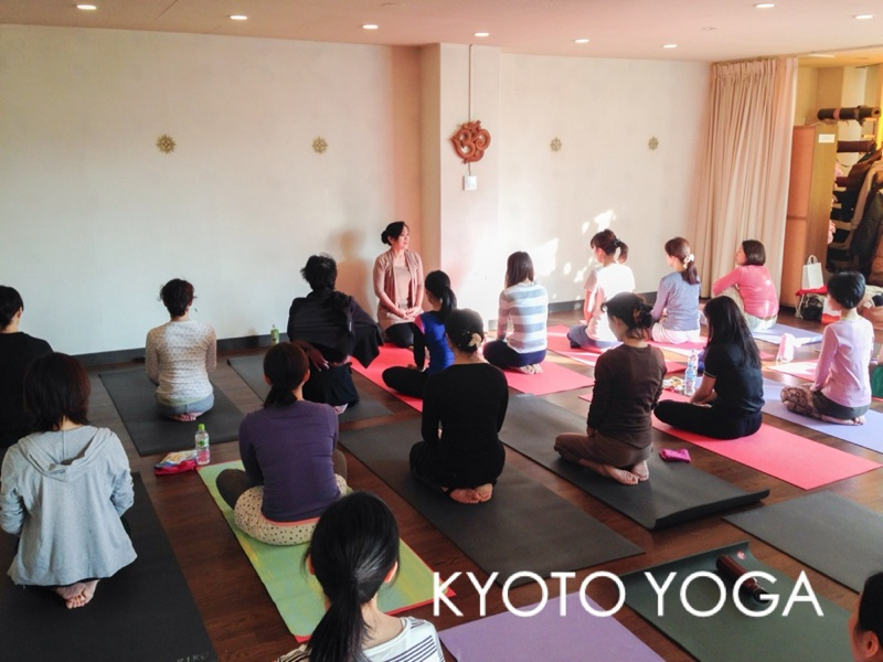 12月太陽礼拝108回WSレポート 京都ヨガ