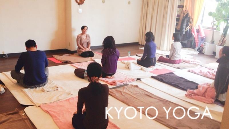 1月ヨウコ先生新春特別クラス 2015年 京都ヨガ