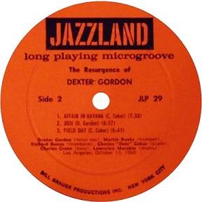 Jazzland Label