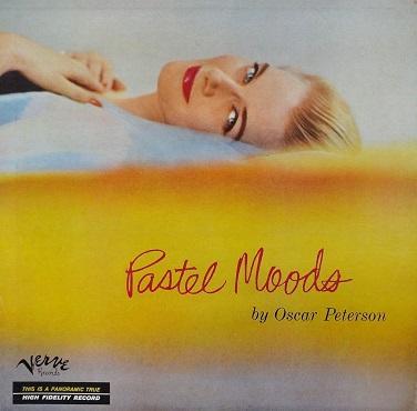 Oscar Peterson Pastel Moods Verve MG V-2004