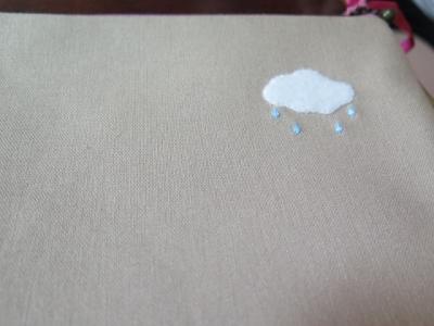 青空孔雀さんのポーチの後ろ