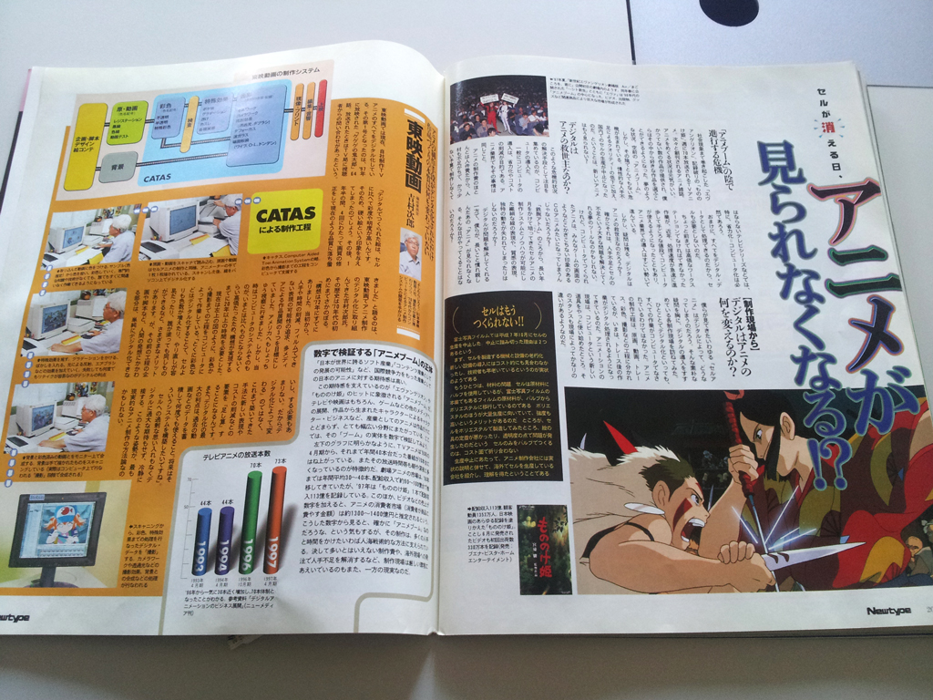 月刊ニュータイプ10月号(1998年)d