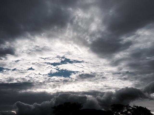 軽井沢の空①