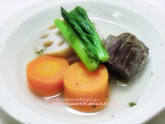馬肉と野菜のポトフ♪