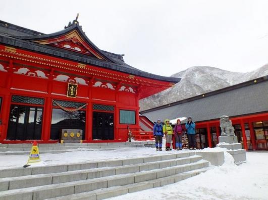赤城神社で