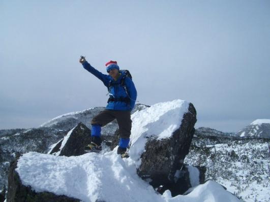 三ッ岳Ⅲ峰で