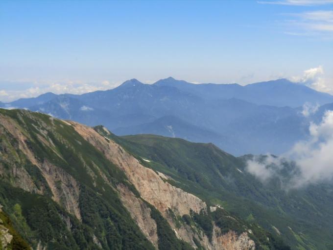 頸城の山々