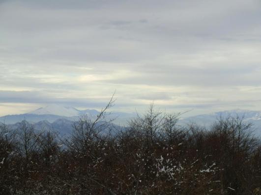 浅間山、四阿山